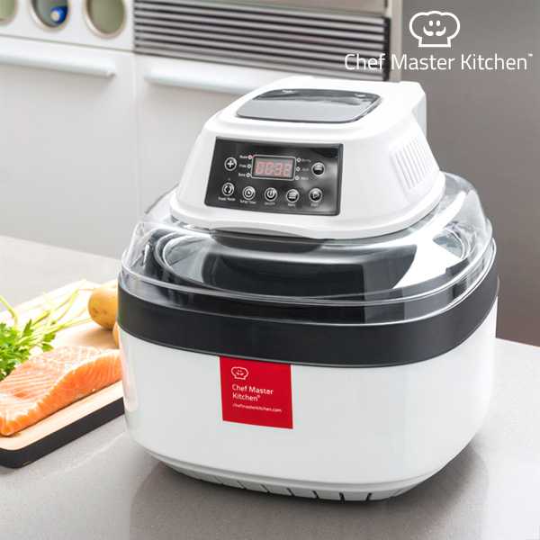Robot de Cocina 3 en 1 Chef Master Kitchen Free Fry Cooker 1 L 1000W Blanco