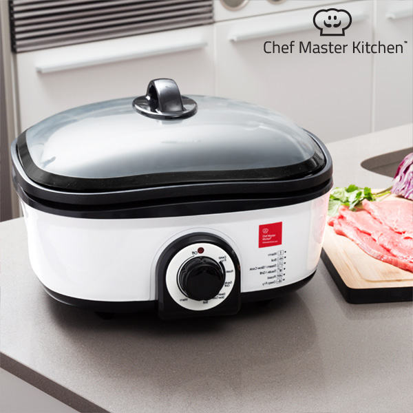 Robot de Cocina Chef Master Kitchen Quick Cooker 5 L 1300W Negro Blanco