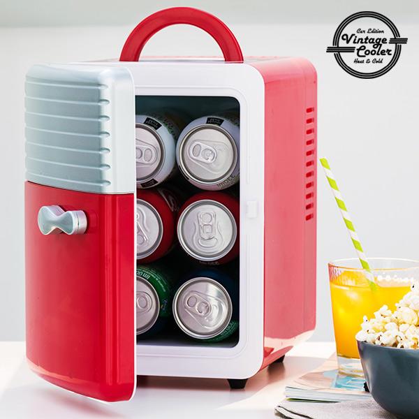 Vintage Cooler Retro Hladilna Torba 5 L