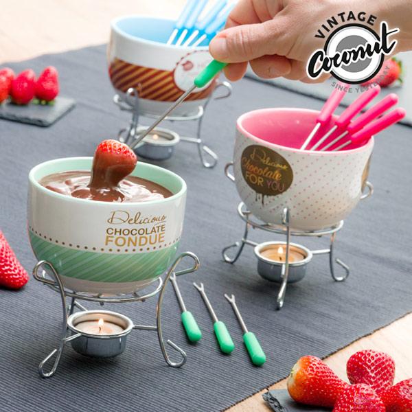 Fondue de Chocolate Vintage Coconut (6 piezas)