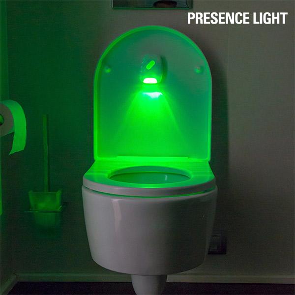 Svetlobni Indikator za Stranišče Presence Light