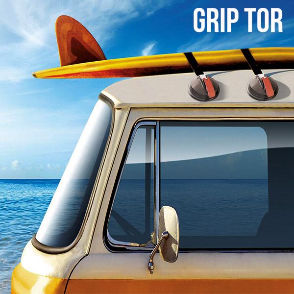 Sesalna Ploščica Za Avtomobilske Strehe Grip Tor (paket 2 kosov)