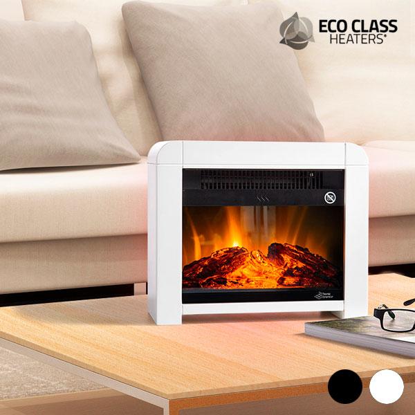 Električni Micatermični Kamin Eco Class Heaters EF 1200W - Črna
