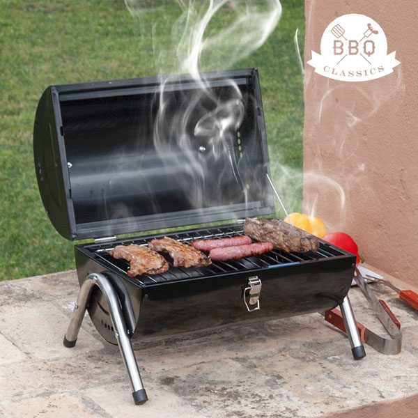 Barbacoa de Carbón Cilindro BBQ Classics
