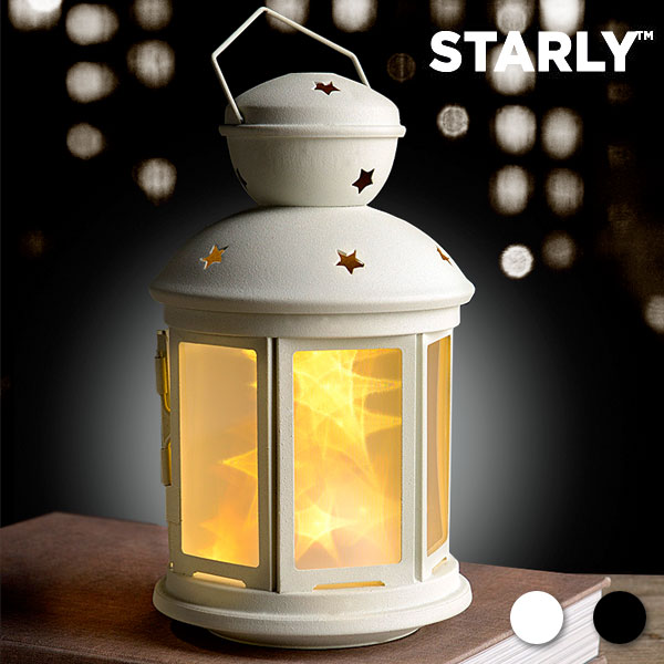 LED Svetilka Starly - Črna