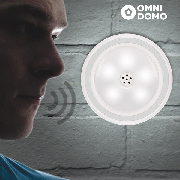 LED Svetilka Z Glasovnim Senzorjem Voluma