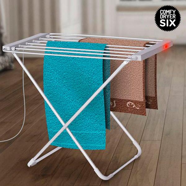 Električno stojalo za sušenje oblačil Comfy Dryer (6 obešalnih palic)