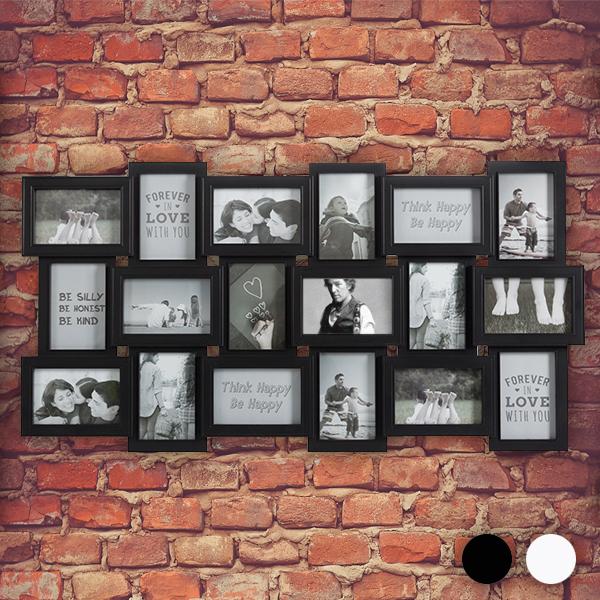 Okvir Za Slike XXL (18 fotografij) - Bela