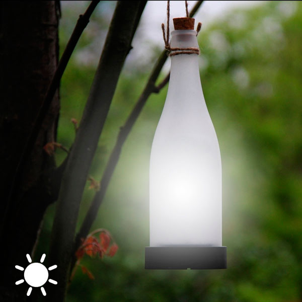 Lámpara Solar Botella Adventure Goods