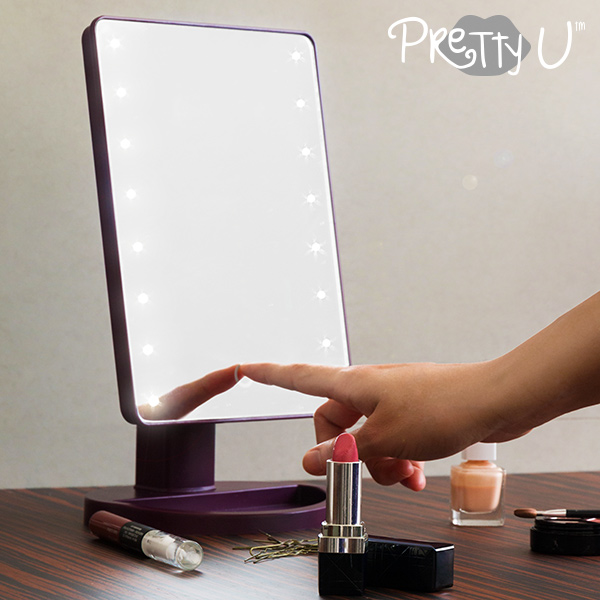 Espejo LED de Sobremesa Pretty U