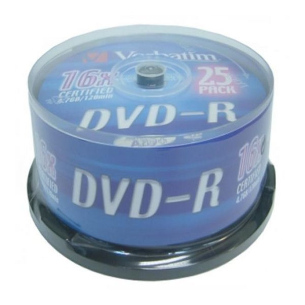 DVD-R Verbatim 43522 16x 25 pcs