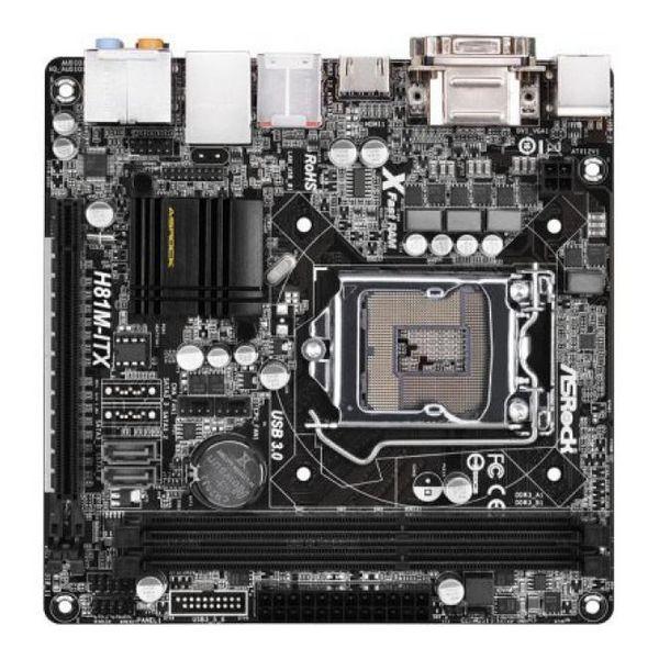 Asrock Matična plošča H81M-ITX Mini-ITX LGA1150
