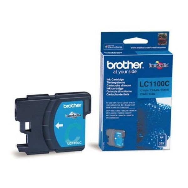 BROTHER LC1100C Kartuša Cyan DCP385/585/MF4