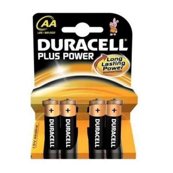 Duracell Alkalna baterija Plus Power LR6 AA PACK-4
