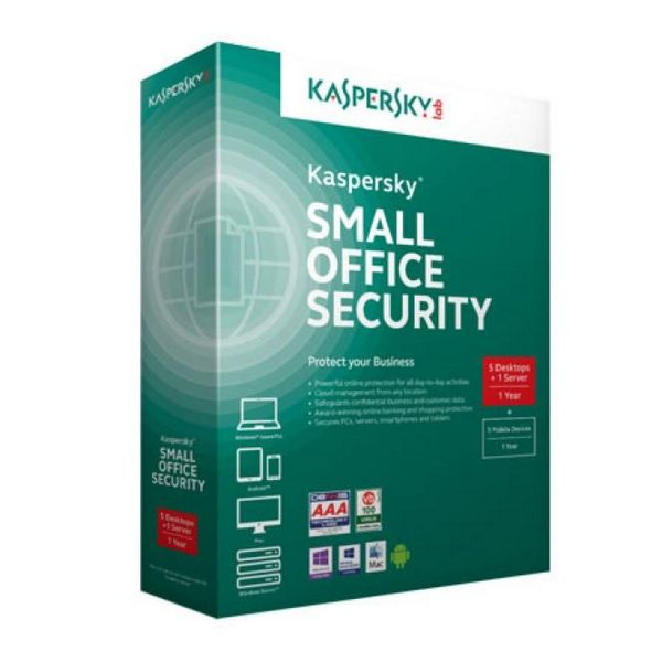 Kaspersky Small Office Security v4 5+1 ES