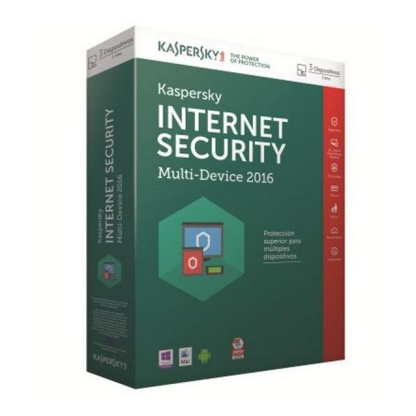 Kaspersky Int.Security Multi-Device 2016 3L/1Leto