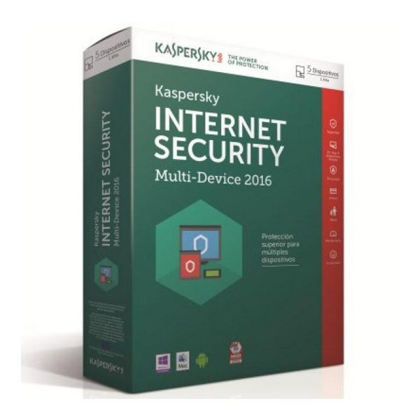 Kaspersky Int.Security Multi-Device 2016 5L/1Leto