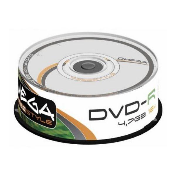 DVD-R Omega OMDF1625- 16x 4.7 GB 25 pcs