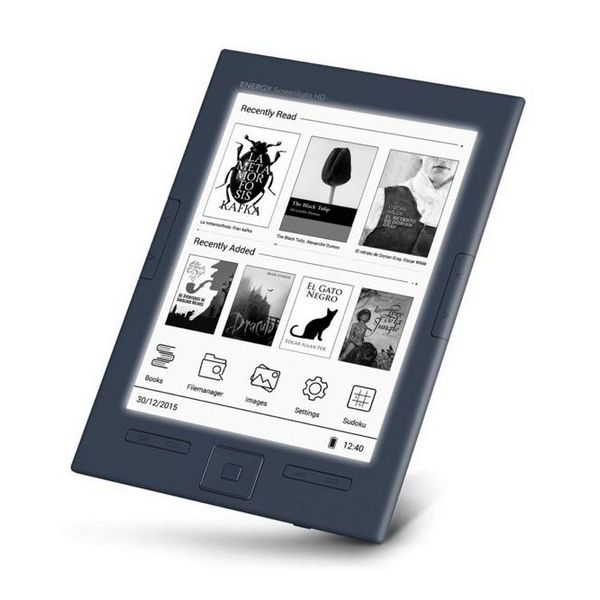 Energy Sistem ebook eReader Screenlight HD 6'' Lučka