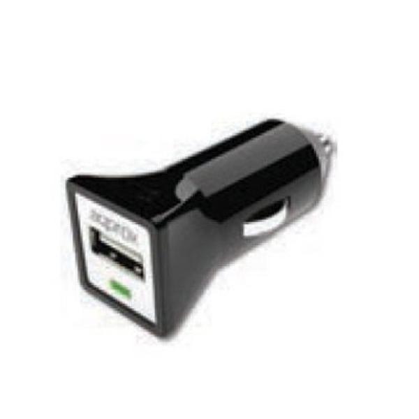 Cargador USB para Coche approx! appUSBCARB Negro