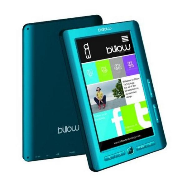 Billow E2TLB Color Book reader 7'' 4GB Modri