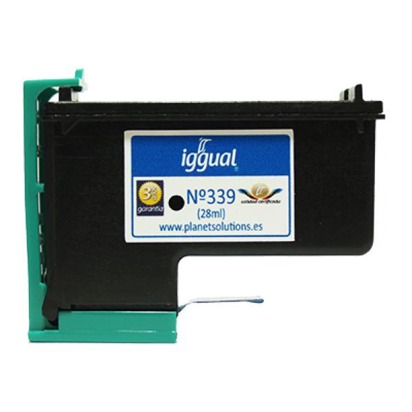 iggual Reciklirana Kartuša HP N? 339 C8767E Črna