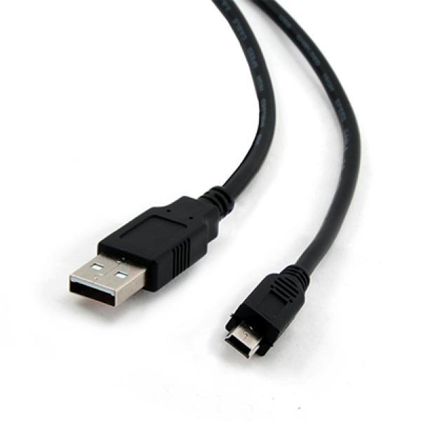 Iggual KABEL USB 2.0 A-miniB 5p. 1,8 Metrov