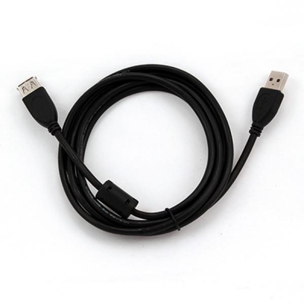 Iggual KABEL USB 2.0 TIP A/M-H P Črni 1,8 Metrov