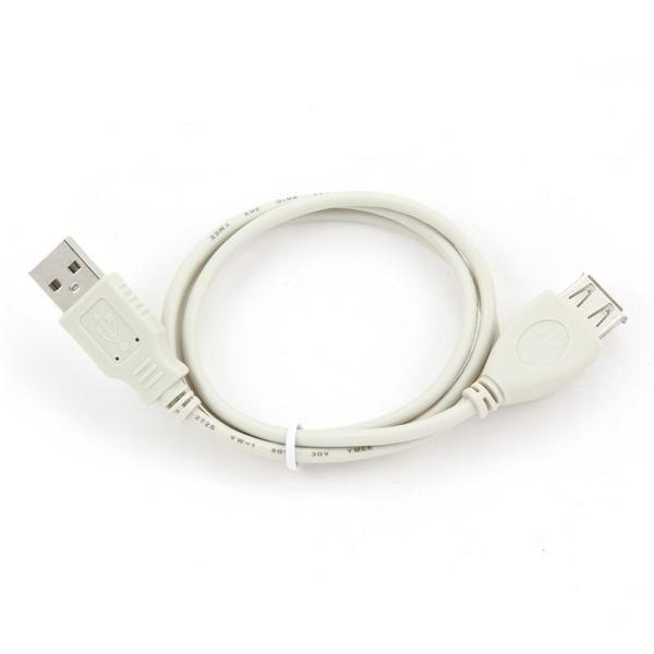 Cable Alargador iggual IGG311714 USB 2.0 0,75 m