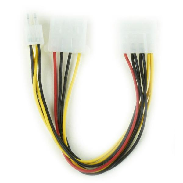 Cable Divisor Alimentación Interna con ATX iggual IGG312100