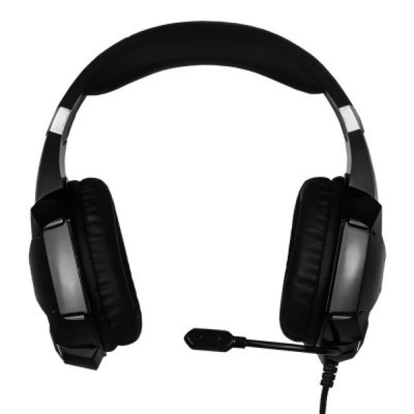 Auriculares con Micrófono Gaming NOX NXKROMKPST Negro