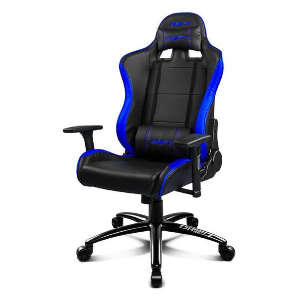 Sedia Gaming DRIFT DR200BL 90-160º Spuma PU Nero Azzurro