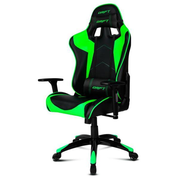 Sedia Gaming DRIFT DR300BG 90-160º Spumă Nero Verde