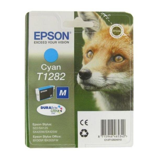 Katuša s Črnilom Izvirna Epson C13T128240 Cian
