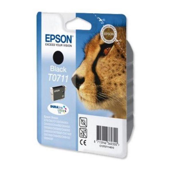 Katuša s Črnilom Izvirna Epson C13T071140 Črna