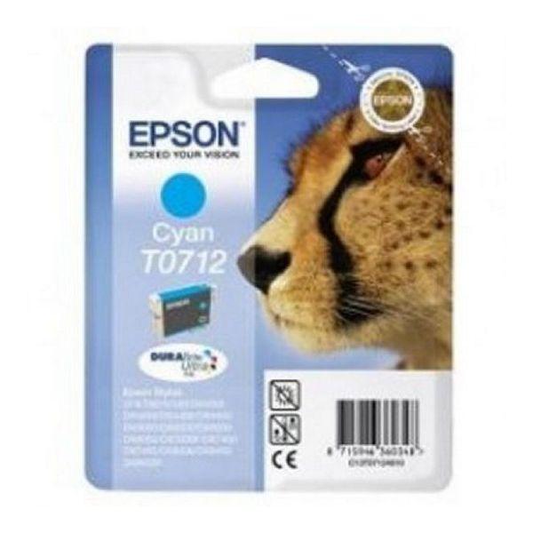 Katuša s Črnilom Izvirna Epson C13T071240 Cian