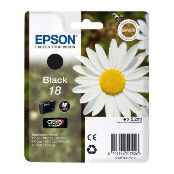 EPSON Kartuša T1801 Črna XP225/322/422
