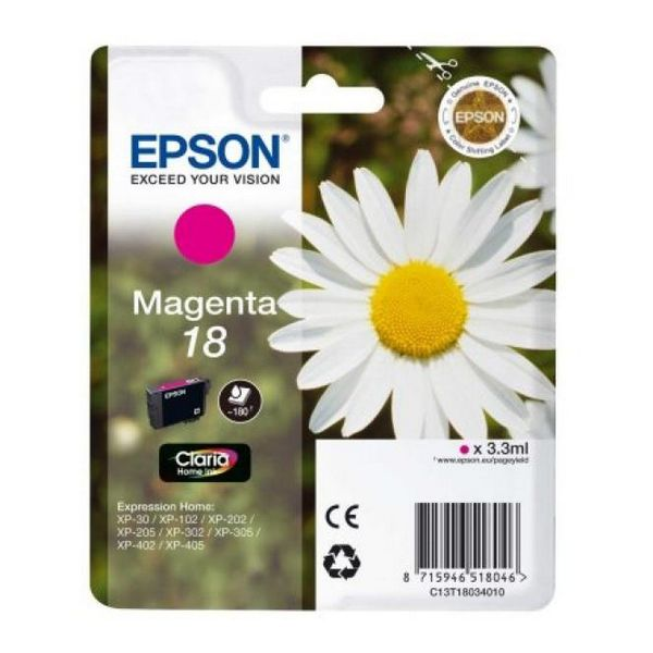 EPSON Kartuša T1803 Roza X225/322/422