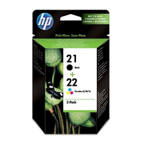 HP SD367AE paket kartuš črna+Tribarvna HP21+HP22