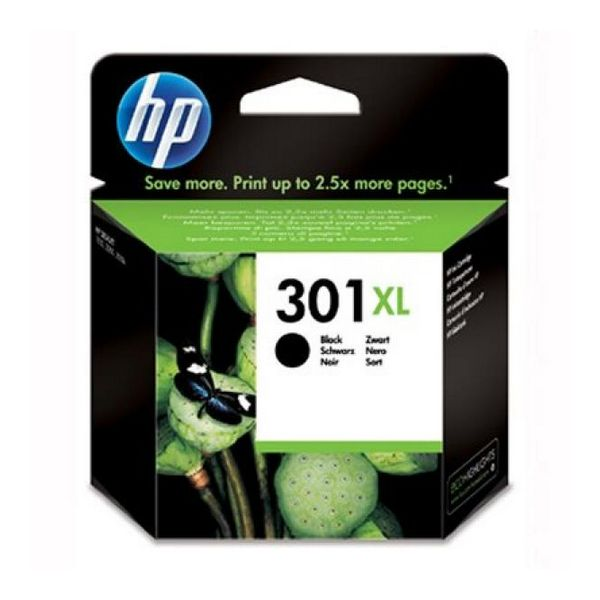 HP 301XL Kartuša Črna CH563EE