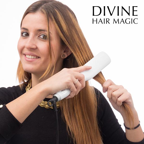 Električna Krtača Za Ravnanje Las Divine Hair Magic