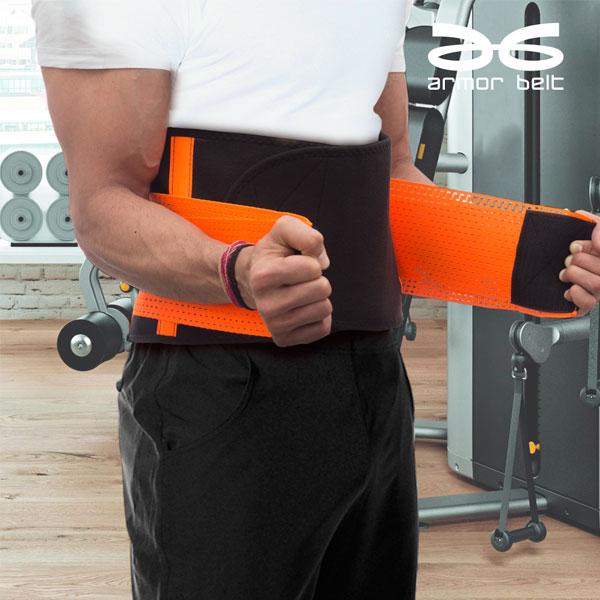 Športni Pas za Zmanjšanje Obsega Telesa in Obremenitve Hrbta med Športnimi Dejavnostmi Armor Belt - S