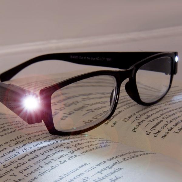 Gafas Graduadas de Lectura con LED Fashinalizer