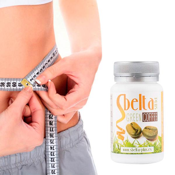 Prehransko Dopolnilo Sbelta Plus Zelena Kava (60 kapsul)