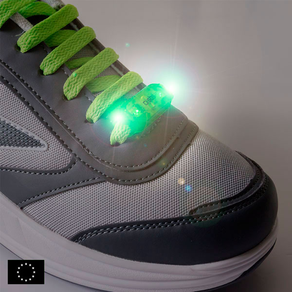 Luz LED de Seguridad para Cordones GoFit (pack de 2)