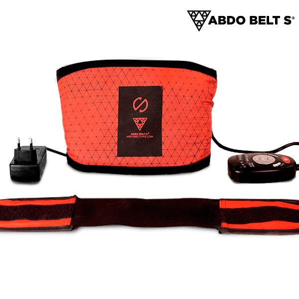 Cinturón Vibratorio con Efecto Sauna Abdo Belt S (3)