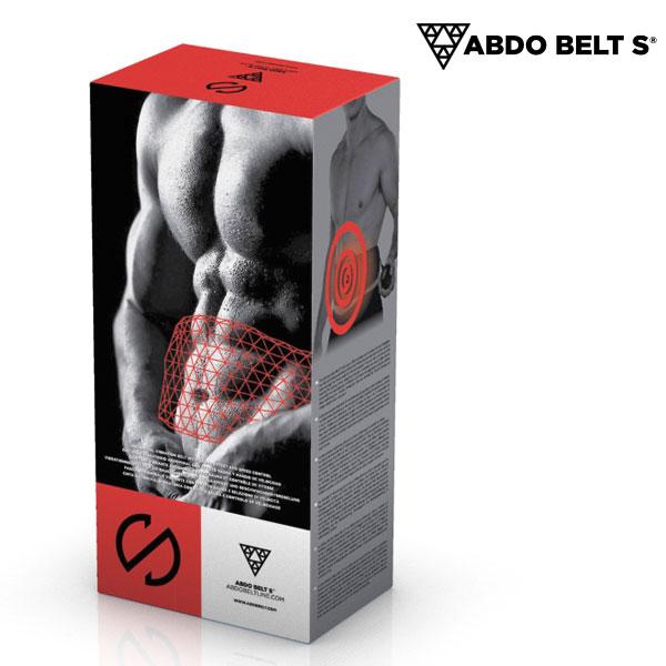 Cinturón Vibratorio con Efecto Sauna Abdo Belt S (1)