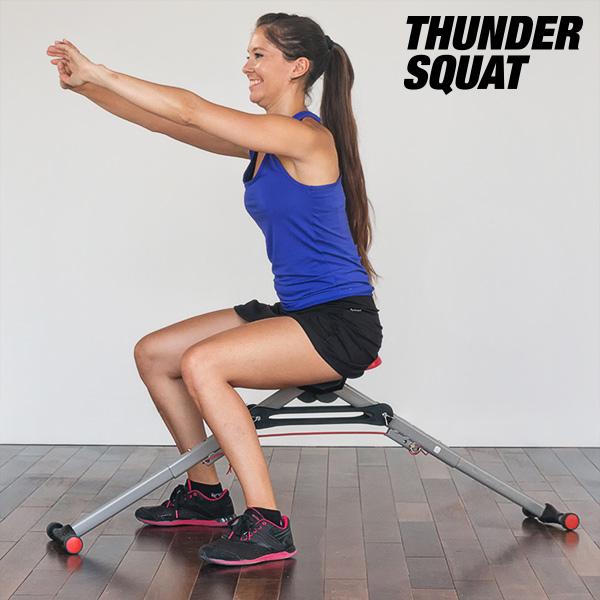 Máquina de Ejercicios para Glúteos Thunder Squat (4)