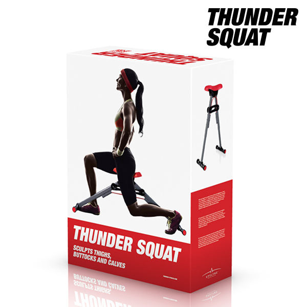 Máquina de Ejercicios para Glúteos Thunder Squat (1)