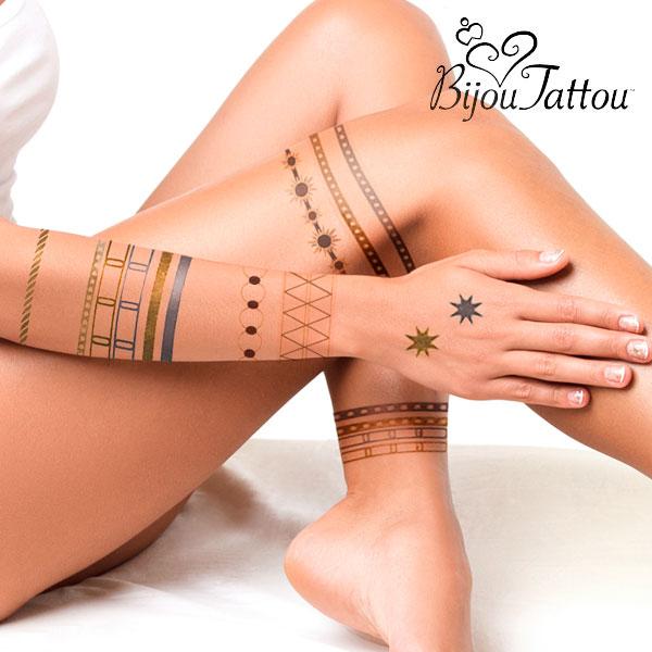 Tatuaggi Temporanei Bijou Tattou